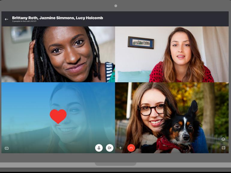 Videokonferenzen mit Skype für Mac