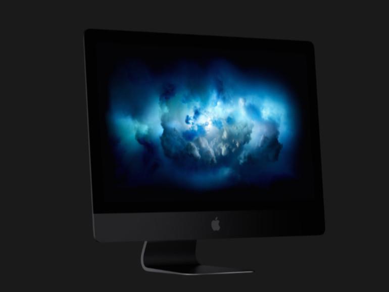 Space Gray wird nur der iMac Pro