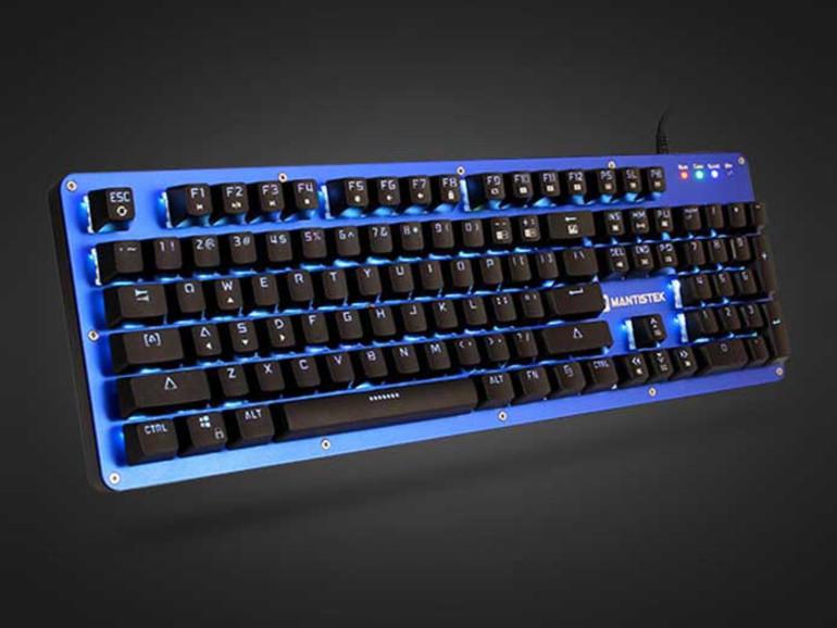 MantisTek GK2 Gaming-Tastatur steht im Verdacht alles mitzuschreiben, was der Nutzer eintippt