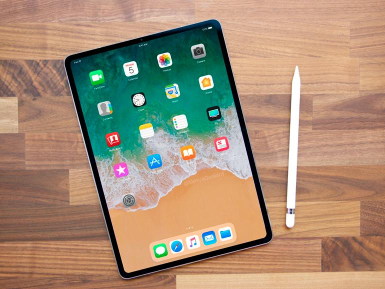 IPad Pro: Apple arbeitet an Fullscreen-Tablet ohne Home-Button