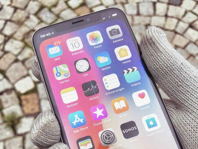 Warum dem iPhone X Kälte zu schaffen macht