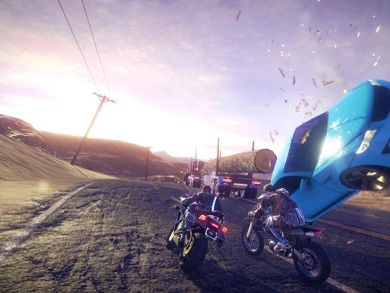 Screenshot aus Road Redemption