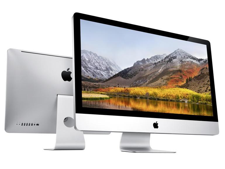 Neue und ältere iMacs