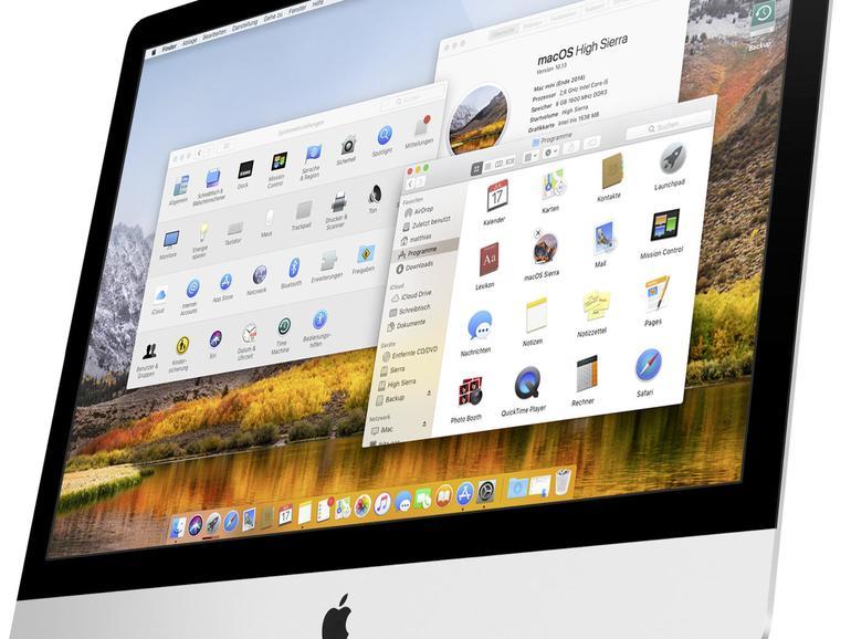 MacOS High Sierra auf dem iMac