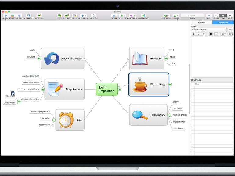 Conceptdraw Office auf dem MacBook