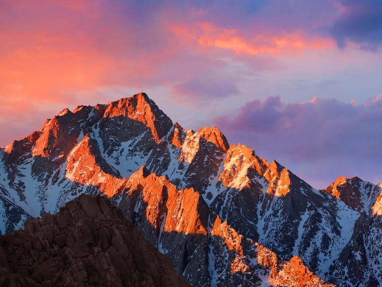 Desktop-Hintergrund von macOS Sierra