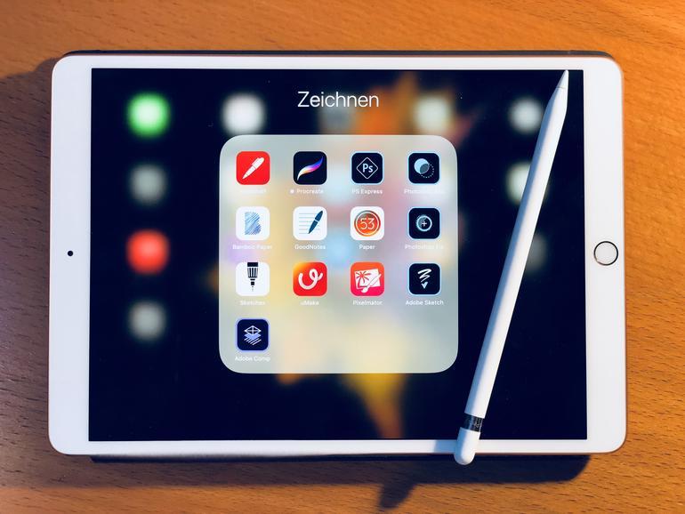 iPad Pro mit Apple Pencil