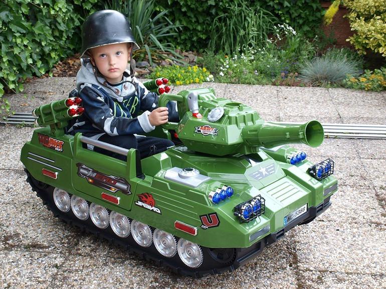 Kinder-Panzer, braucht man das?
