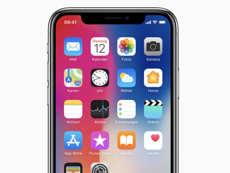 So schließen Sie Apps auf dem iPhone X