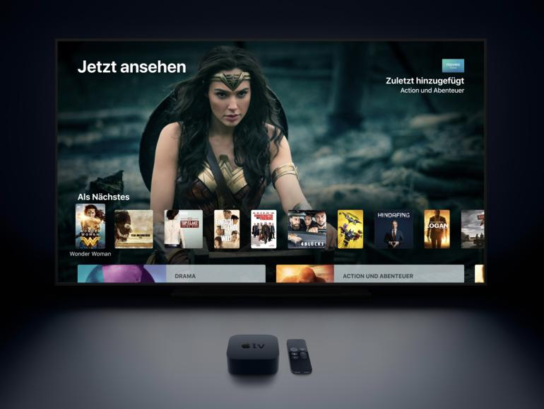 Apple TV: Apple bewirbt App für Amazon Prime Video