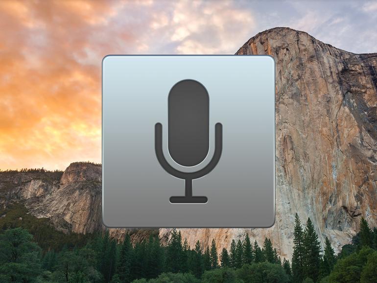 Auch ohne Siri kann man am Mac Texte diktieren