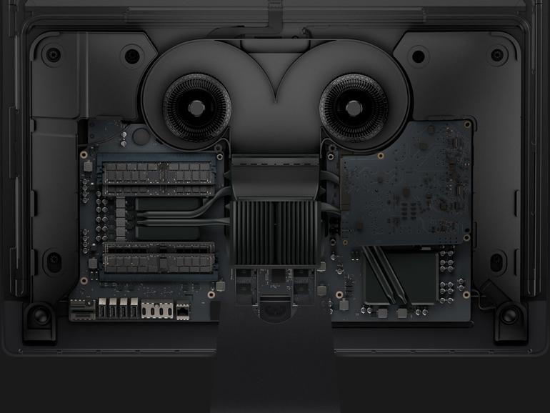 Innenleben des iMac Pro