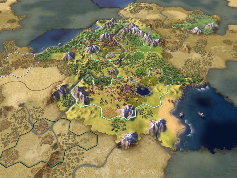 Screenshot aus Sid Meier's Civilization VI
