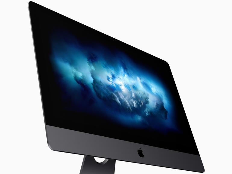 Den iMac Pro gibt es nur in Space Grau