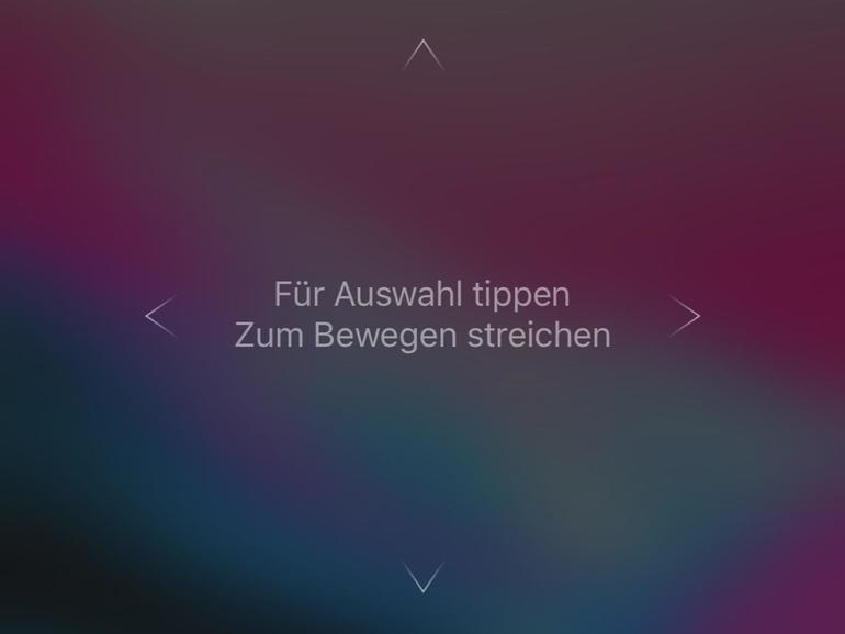 In der Remote-App erscheinen die Apple TVs der Privatfreigabe. Das iPhone dient als Fernbedienung inklusive Tastatur für Texteingaben.