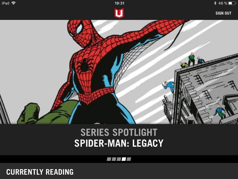 """Mit """"Marvel Unlimited"""" leihen Sie Comics per Flatrate statt Einzelkauf."""