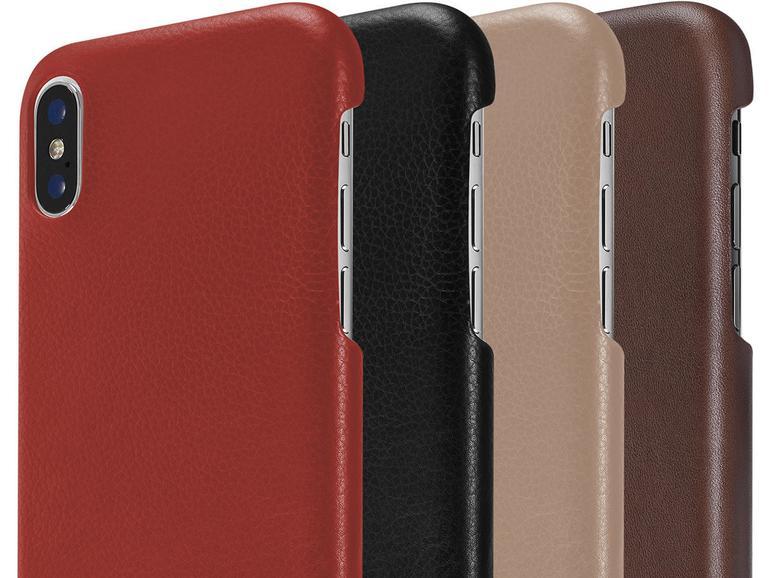 Artwizz Leather Clip für iPhone X