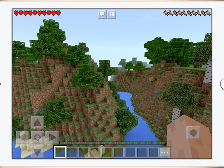 Das IPad Als Spielekonsole Kann Apple Es Besser Als Nintendo Mac - Minecraft zusammen spielen ipad
