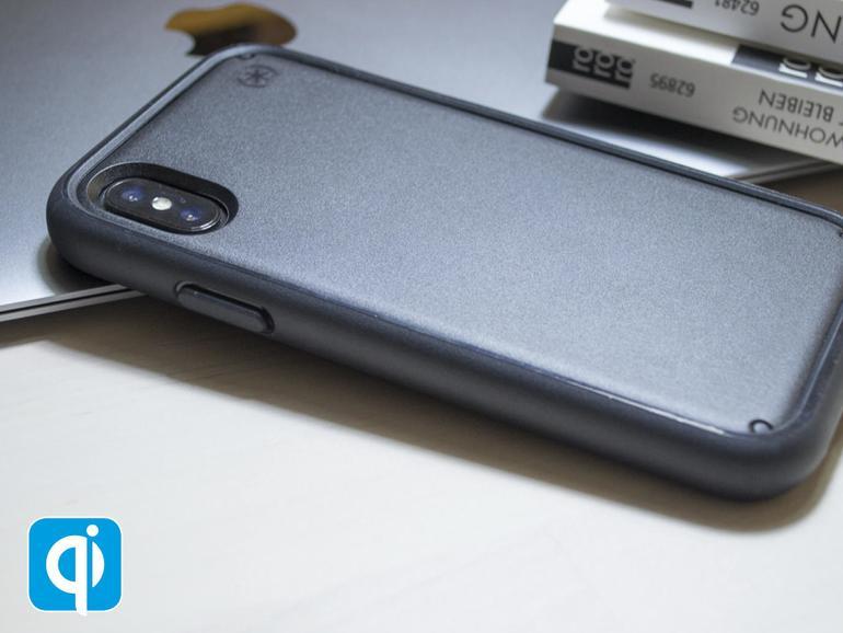 Viel mehr Schutz geht kaum. Dafür verwandelt das Presidio Ultra von Speck das schlanke iPhone X in einen ganz schön groben Klotz