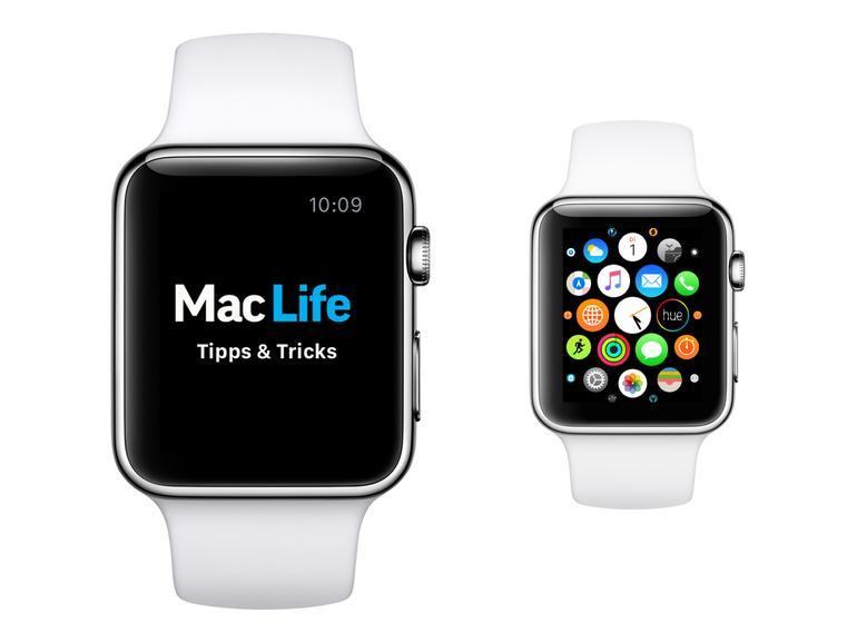 Apple Watch: So ordnen Sie die Apps um