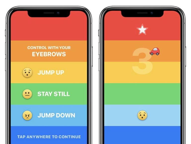 Für das iPhone X: Dieses Spiel steuern Sie mit Ihrem Gesicht