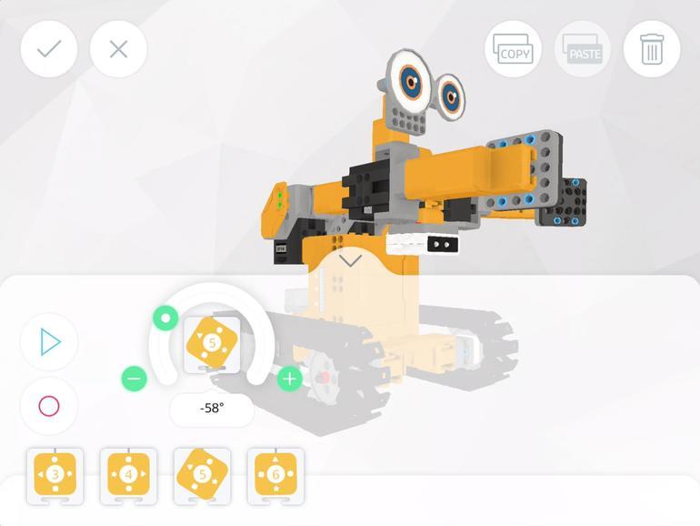 Ubtech Tankbot im Test: Kettenfahrzeug mit App und Swift