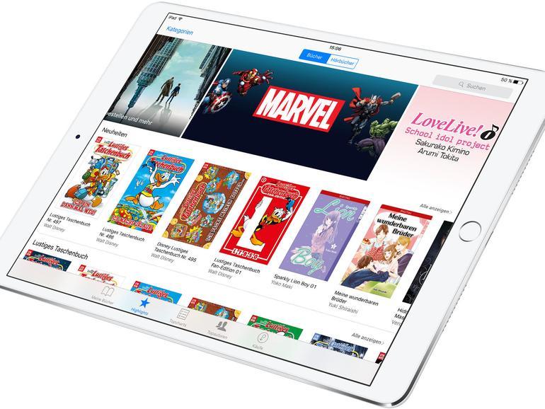 Im iBooks Store von Apples gibt es eine große Auswahl an Comics und Graphic Novels