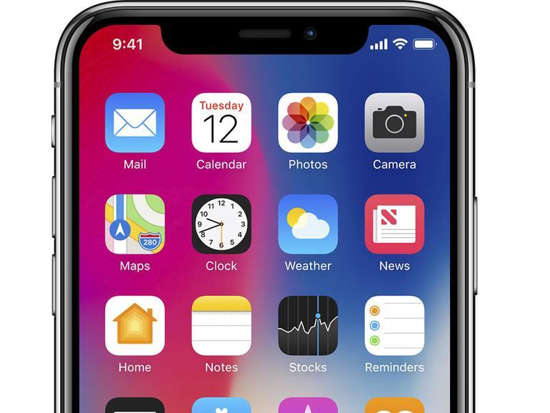 iOS 11 auf dem iPhone X