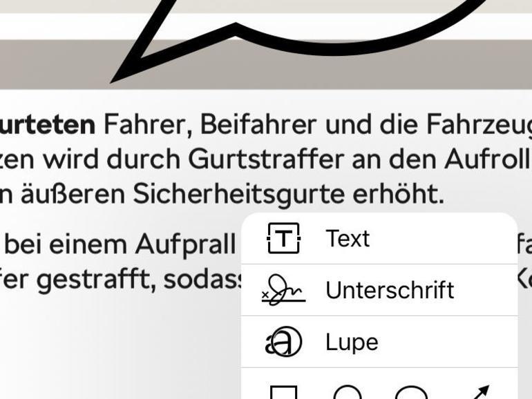 In iBooks lassen sich PDF-Dokumente mit Anmerkungen im Markup-Stil versehen.