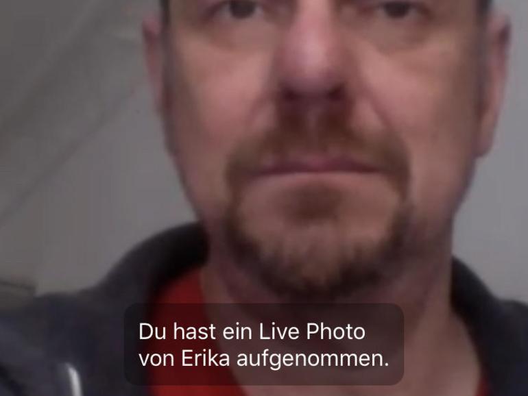 In Facetime-Gesprächen gibt es nun einen eigenen Auslöser für Live Photos.