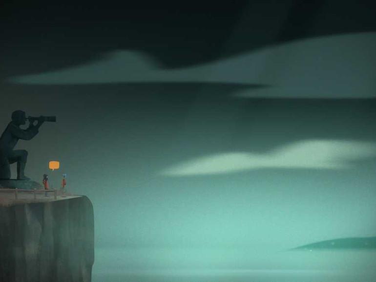 Screenshot aus Oxenfree