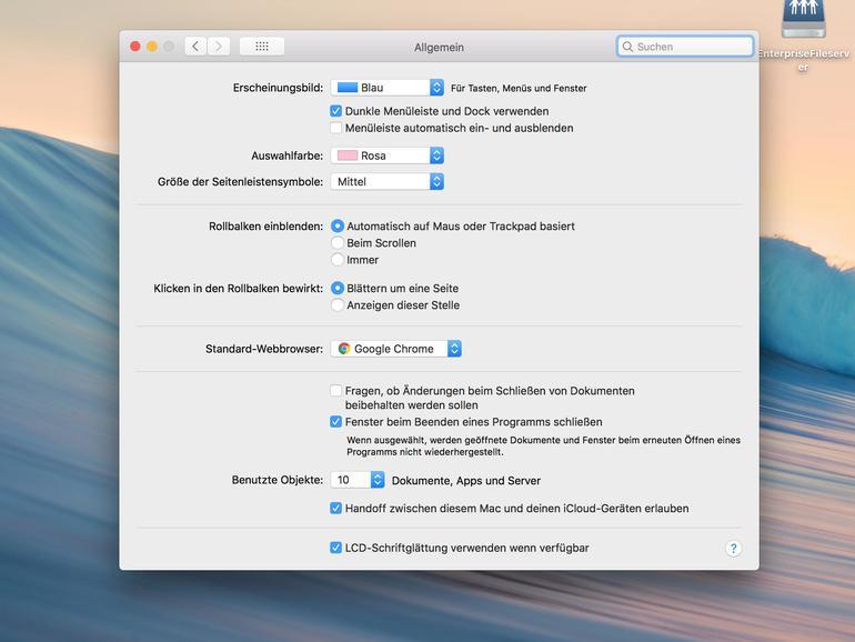 12 versteckte Funktionen von macOS