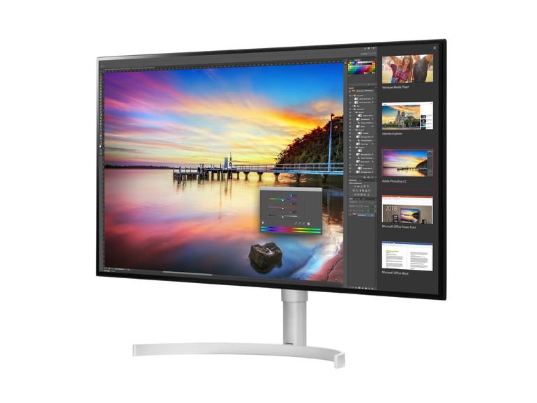 LG Stellt Thunderbolt 40 Displays Auf CES 40 Vor Mac Life Extraordinary 3 Monitor Display Stand