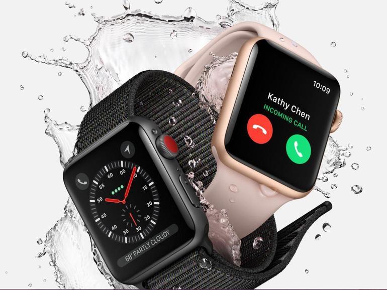 Mit der Apple Watch Series 3 kann das iPhone Zuhause bleiben
