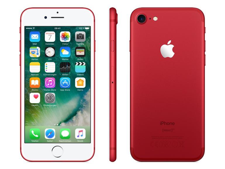 Leider verkauft Apple das rote iPhone 7 schon nicht mehr