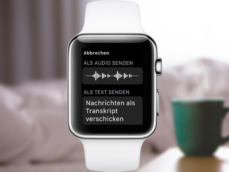 Apple Watch: So wandeln Sie Sprachnachrichten automatisch in Text um