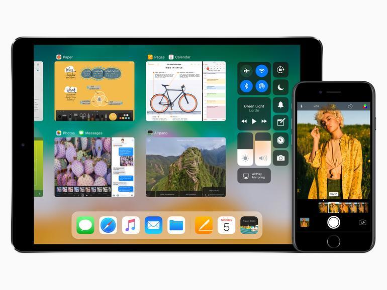 iOS 11 auf dem iPad und iPhone