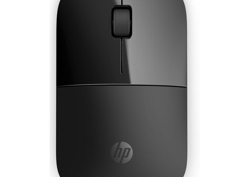 HP Funkmaus Z3700 flach in Schwarz