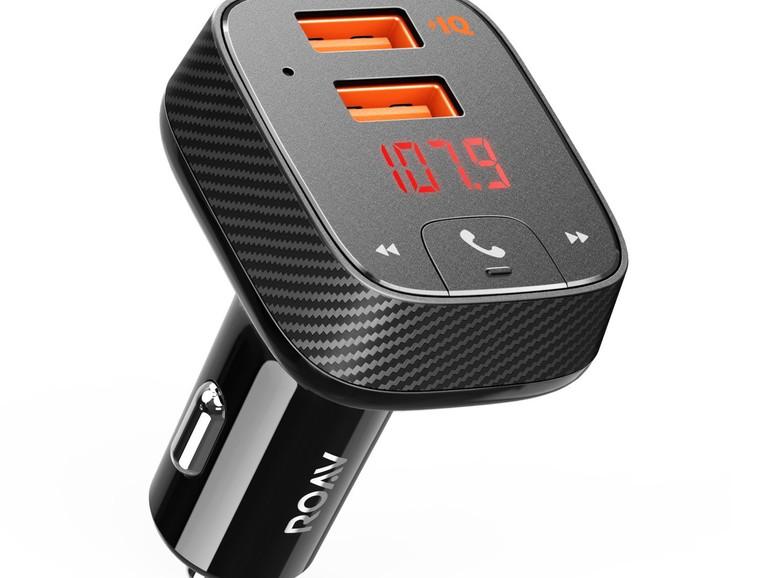 Anker Roav Bluetooth FM Transmitter mit Auto-Finder und Freisprecheinrichtung