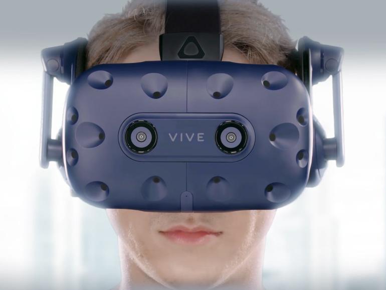 CES 2018: HTC kündigt hochauflösendes HTC Vive Pro VR-Headset an