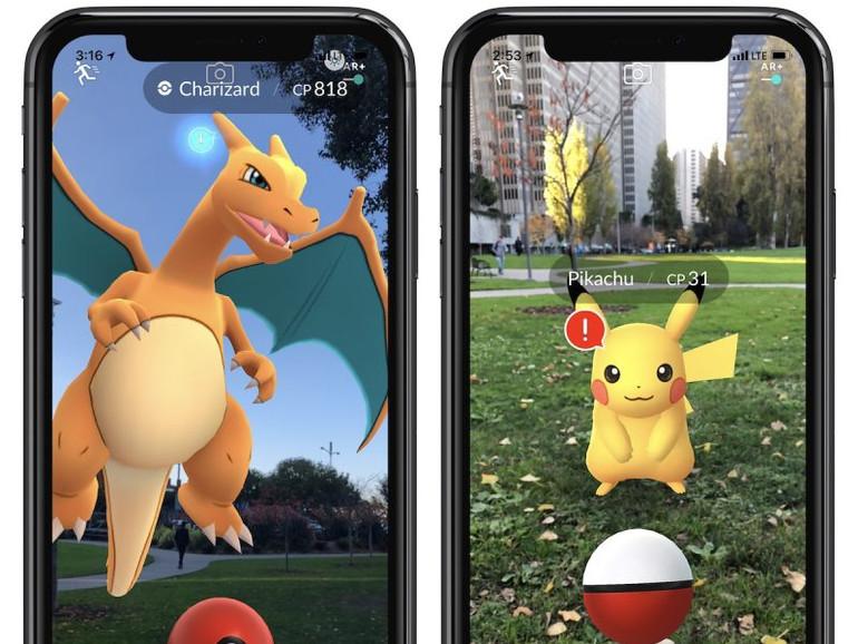 Pokémon GO auf dem iPhone X
