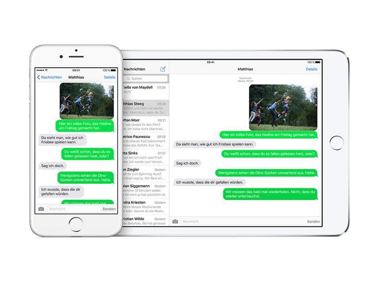 So blenden Sie Kontaktfotos in iMessage am iPhone aus