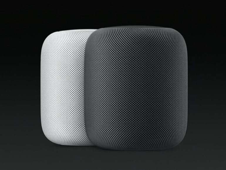 Den HomePod wird es in weiß und schwarz geben