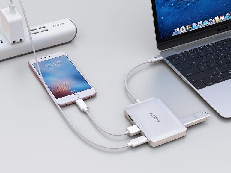 7-in-1 USB-C-Hub