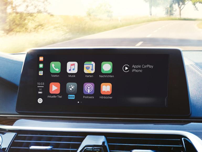 Abomodell für CarPlay vorerst kein Thema in Deutschland — BMW