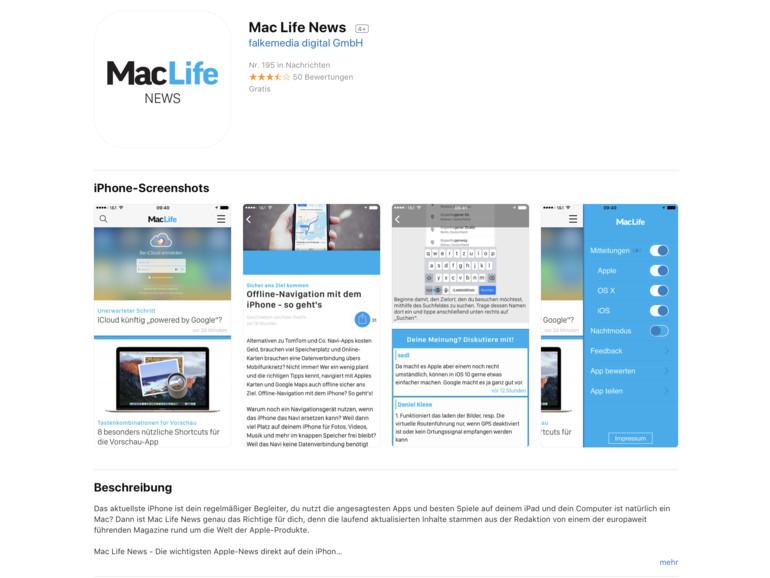 "Apple überarbeitet ""App Store""-Website grundlegend"