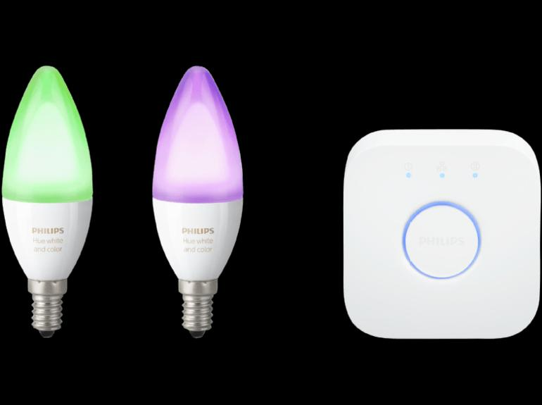 ​Philips Hue E14 White and Color Ambiance Starter-Set