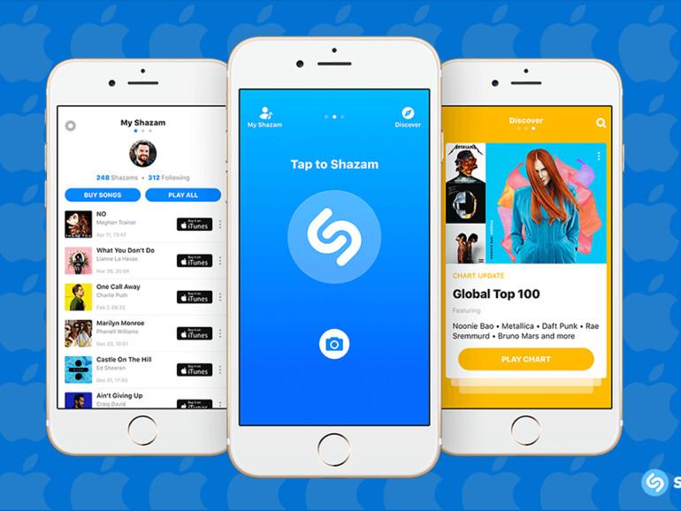 Shazam auf dem iPhone