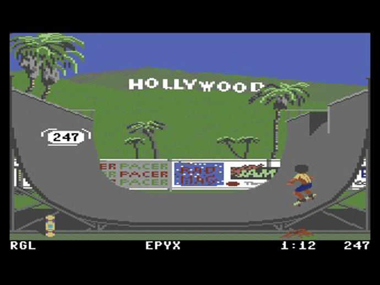 Screenshot aus California Games