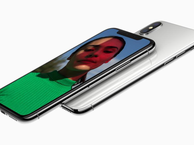 Das iPhone X war auch in Indien vorn